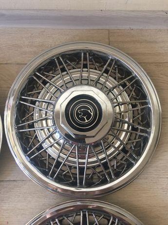 Комплект спицованных колпаков wire hubcaps 14 дюймов Ford Форд Mercury