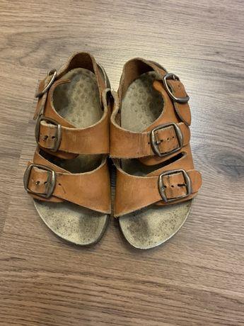 Кожаные босоножки сандалии 17, 5 см