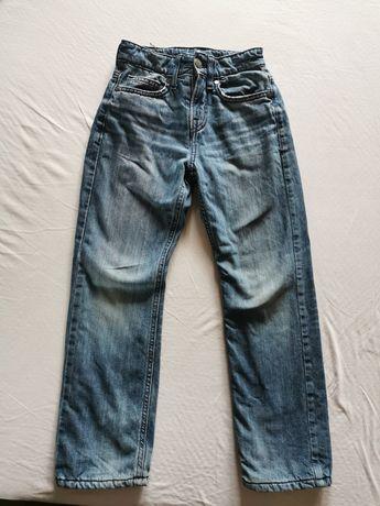 Утеплённые джинсы на мальчика 7-8лет