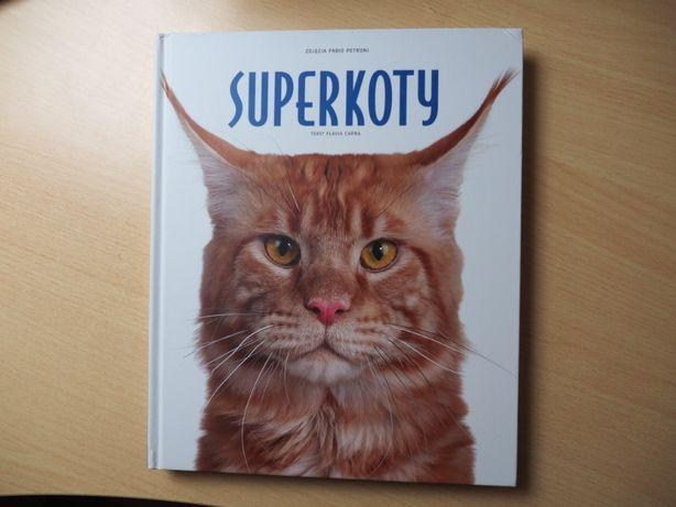 Super koty album zdjęcia Fabio Petroni Tekst Flavia Capra twarda opraw