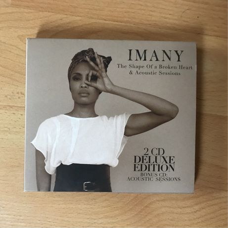 """Imany """"The shape of a broken heart"""" 2CD deluxe edition"""