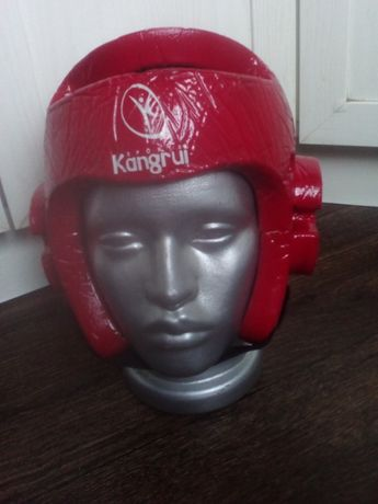 детский шлем для тхэквондо, б/у