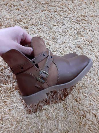 Сапожки ботинки  h&m демисезонные 24