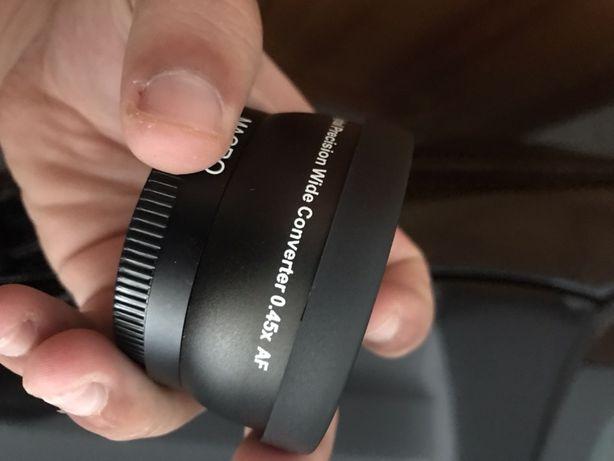 Lente macro 52mm + Tapa sol Cannon