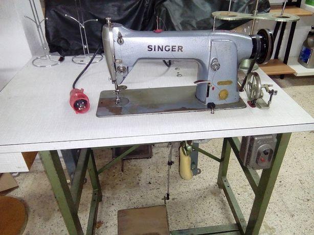 Máquina costura Singer (Óptima para coser peles)
