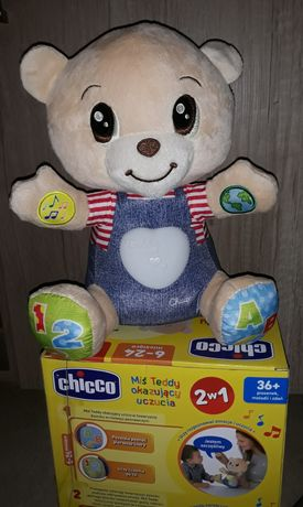 Interaktywny mis Teddy,chicco