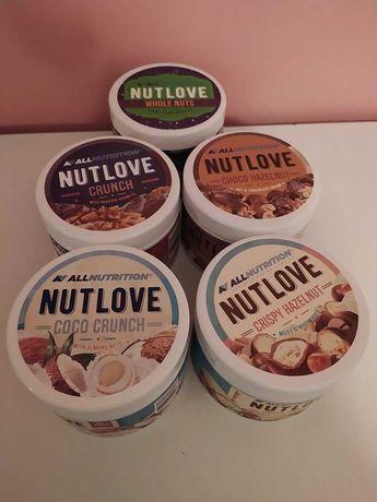 Kremy nutlove + orzechy w czekoladzie Allnutrition
