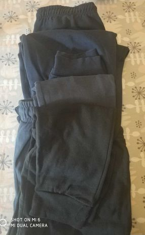 4 pary spodni dresowych męskich r. M