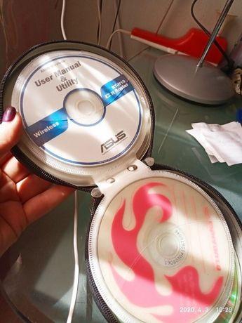 Кофр, сумка для СD, DVD дисков
