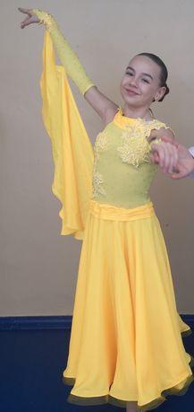 Платье для бальных танцев стандарт Юниоры 1,2