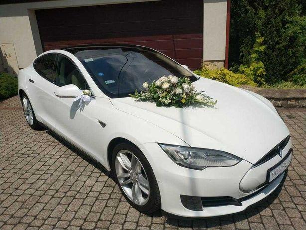 TESLA S Auto Samochód do Ślubu na Wesele Tesla S Kraków