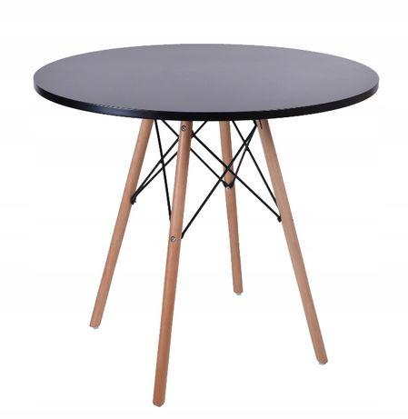 Stół okrągły. Skandynawski. 80cm.