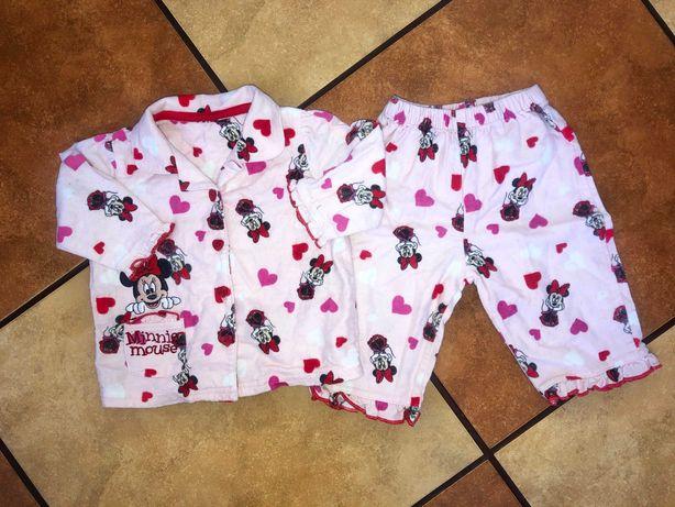 Piżamka z myszką Minnie na 3-6 miesięcy