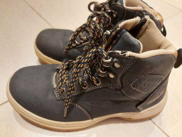 Sprandi traperki na wiosnę r 33 wkl.21,5cm buty przejściówki zamek