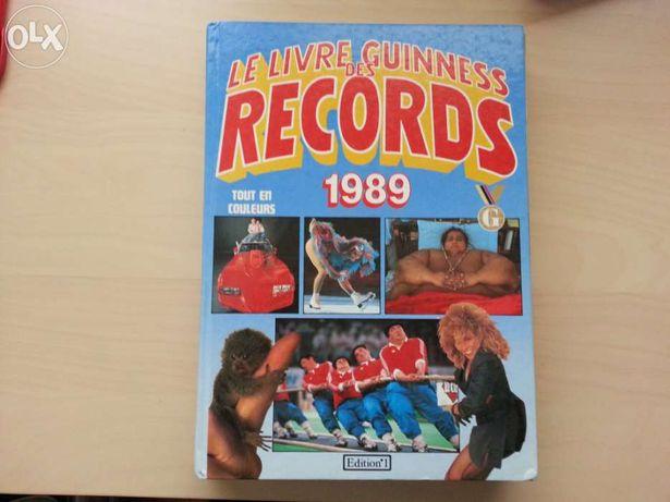 Livro records guiness 1989 1ª edição