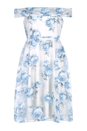 Piękna sukienka nowa r.42/40 Boohoo lekka zwiewna cudo