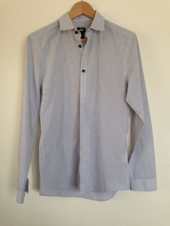 Koszule męskie slim fit rozmiar S Reserved H&M