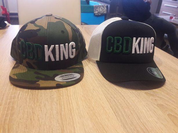 Markowa czapka z daszkiem fullcap CBD KING