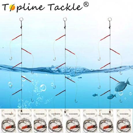 Montagem de pesca