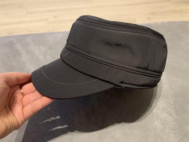 Nowa czapka meska zimowa uszatek