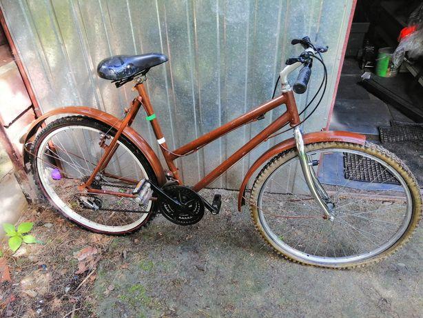 Rower miejski retro damka damski vintage oldschool 26 cali