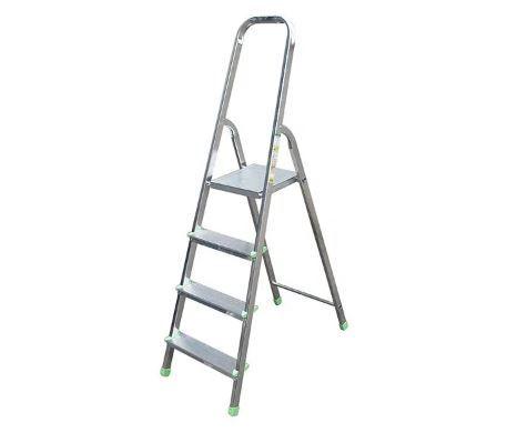Лестница Стремянка Drabest алюминиевая 4 ступени DRALD-4, 10104A