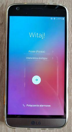 Zestaw z oryginalnym telefonem LG G5 H850 tytanowy bez simlocka