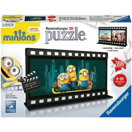 Minionki, puzzle 3D Kadr z filmu
