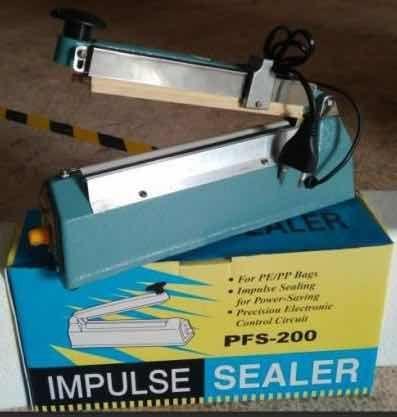 Запайщик пакетов PFS-200 алюминиевый корпус с обрезным ножом