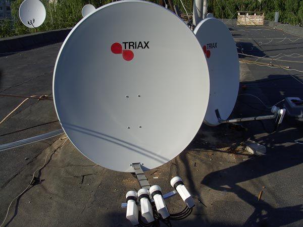 Телевидение спутниковое, цифровое эфирное Т2