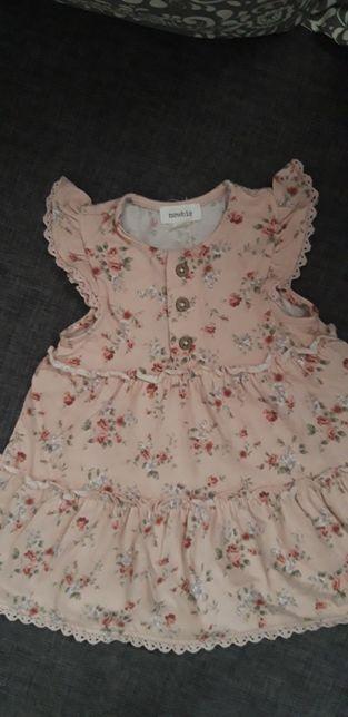 Letnia sukienka rozmiar 68 NEWBIE