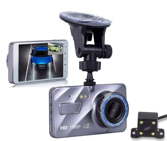 Wideorejestrator jazdy kamera cofania samochodowa Full HD