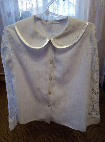 Блузка шкільна для дівчинки