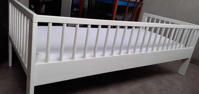 Łóżko dziecięce 70x160 z materacem oddam za darmo