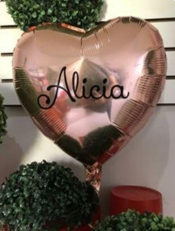 Personalização de balões foil