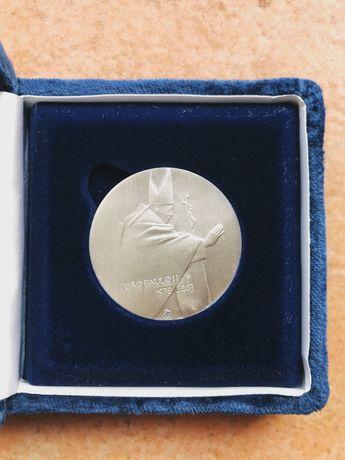 Medalha João Paulo II - Colecções Philae em Prata