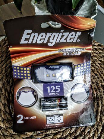 Lampka czołowa, czołówka Energizer 125 lumenów + 2 baterie AAA