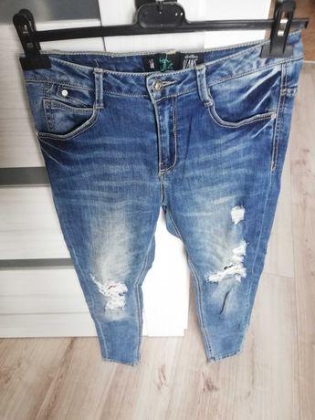 Spodnie jeansowe Cropp rozm 36