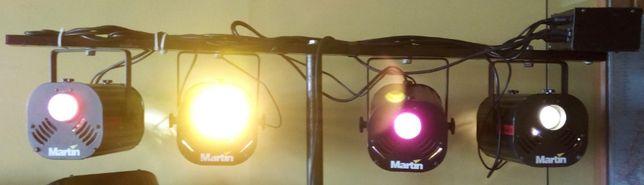 Projetores de luz Martin Robocolor II (lote de 8)