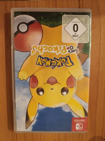 Let's go Pikachu gra Nintendo Switch wersja fizyczna na karcie