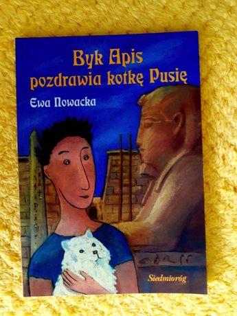 Byk Apis pozdrawia kotkę Pusię