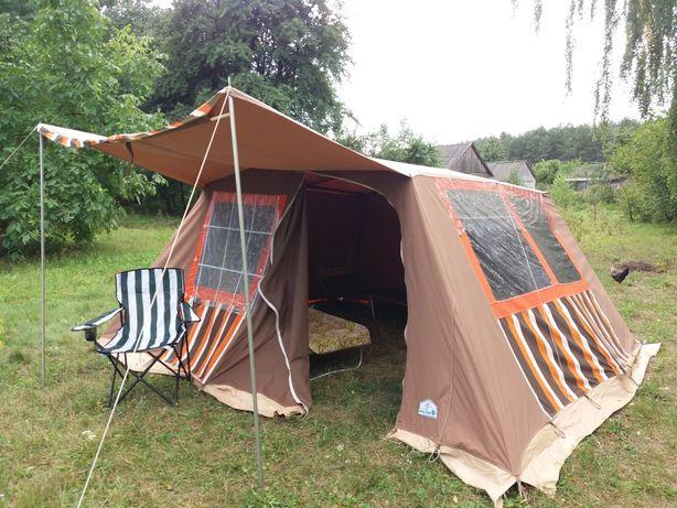 Палатка бавовняна для комфортного відпочинку.