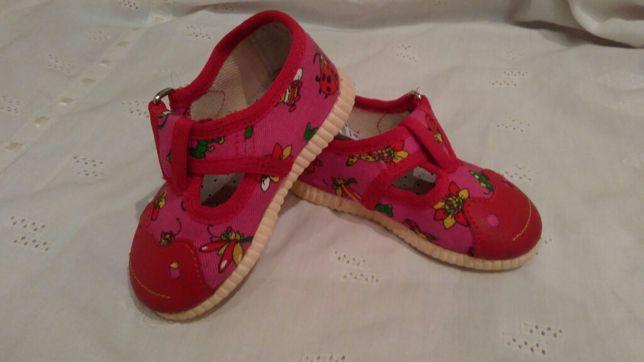 Первая обувь тапочки туфли
