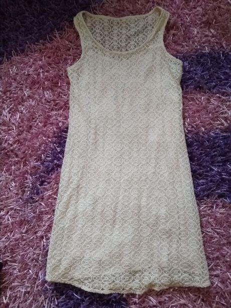 Кружевной сарафан платье Zara