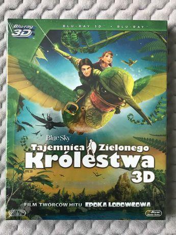 """Tajemnica Zielonego Królestwa"" - bajka Blu-ray 3D + Blu-ray 2D"