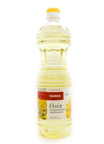 Олія соняшникова Promo marka 850 мл. Подсолнечное масло