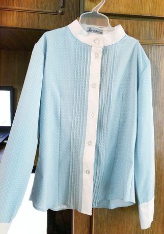 Шкільна блуза для дівчинки