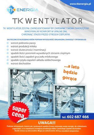 Wentylator przemysłowy - 140x140cm - duży