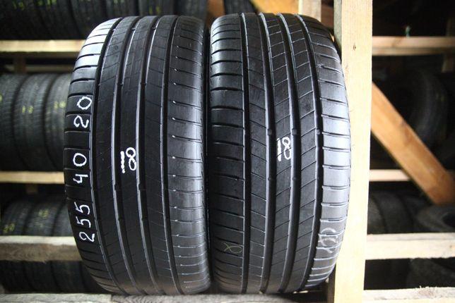Шини літо 255/40R20 Bridgestone Turanza T005 18рік 2шт хороший стан