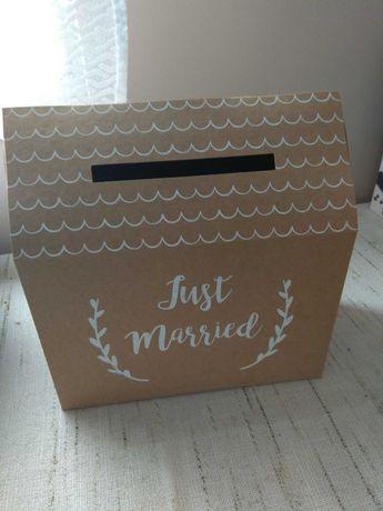 Pudełko na koperty- ślubne